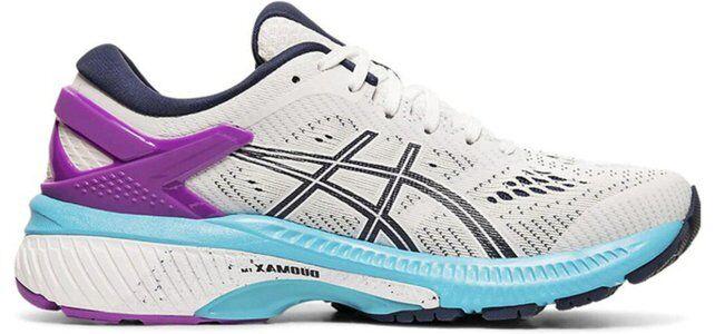 Womens Asics Gel Kayano 26 'White Peacoat' White/Peacoat女子 WMNS跑步鞋/運動鞋 (1012A457-100) 海外預訂