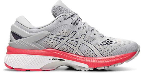 Womens Asics Gel Kayano 26 Wide 'Piedmont Grey Red' Piedmont Grey/Silver女子 WMNS跑步鞋/運動鞋 (1012A459-020) 海外預訂