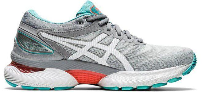 Womens Asics Gel Nimbus 22 Wide 'Sheet Rock' Sheet Rock/White女子 WMNS跑步鞋/運動鞋 (1012A586-020) 海外預訂