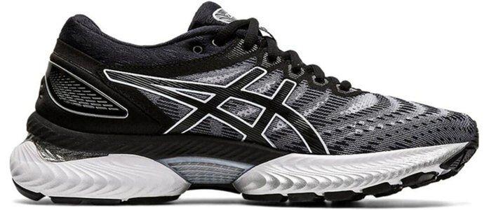 Womens Asics Gel Nimbus 22 'White Black' White/Black女子 WMNS跑步鞋/運動鞋 (1012A587-100) 海外預訂