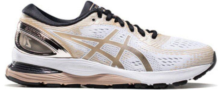 Womens Asics Gel Nimbus 21 Platinum 'White Frosted Almond'女子 WMNS跑步鞋/運動鞋 (1012A608-100) 海外預訂