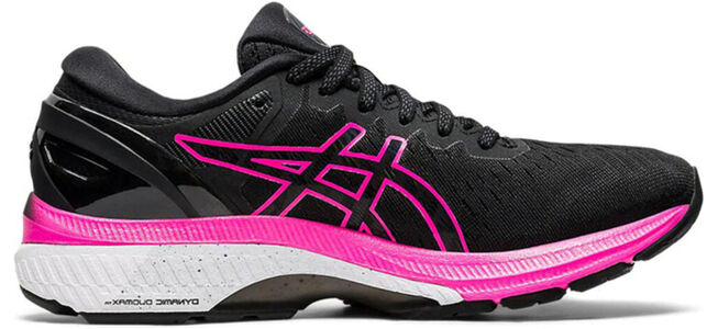 Womens Asics Gel Kayano 27 'Black Pink Glo' Black/Pink Glo女子 WMNS跑步鞋/運動鞋 (1012A649-003) 海外預訂