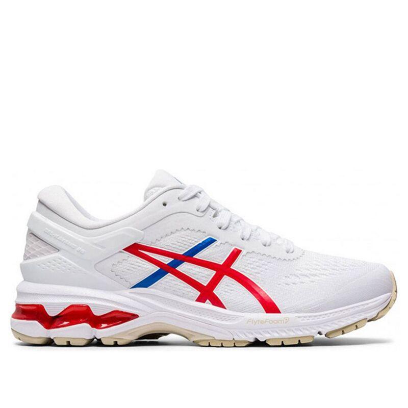 Womens Asics Gel Kayano 26 'Retro Tokyo' White/Classic Red女子 WMNS跑步鞋/運動鞋 (1012A654-100) 海外預訂