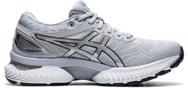 Womens Asics Gel Nimbus 22 Platinum 'Grey Pure Silver'女子 WMNS跑步鞋/運動鞋 (1012A664-020) 海外預訂