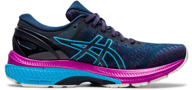 Womens Asics Gel Kayano 27 Wide 'French Blue Digital Aqua'女子 WMNS跑步鞋/運動鞋 (1012A713-401) 海外預訂