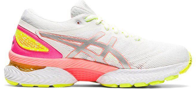 Womens Asics Gel Nimbus 22 Lite-Show 'White Sun Coral' White/Sun Coral女子 WMNS跑步鞋/運動鞋 (1012A766-100) 海外預訂