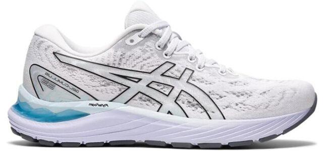 Womens Asics Gel Cumulus 23 'White Black' White/Black女子 WMNS跑步鞋/運動鞋 (1012A888-100) 海外預訂