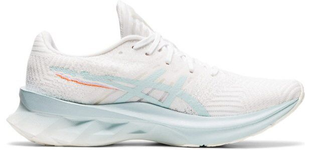 Womens Asics Novablast 'Pixel Noise - White Aqua Angel' White/Aqua Angel女子 WMNS跑步鞋/運動鞋 (1012B006-100) 海外預訂