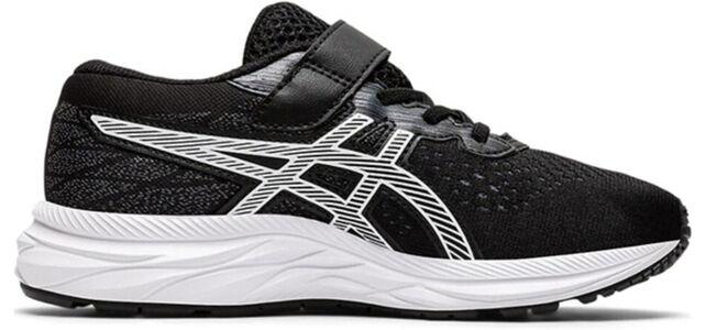 Kids Asics Gel Excite 7 PS 'Black White' Black/White 跑步鞋/運動鞋 (1014A101-001) 海外預訂