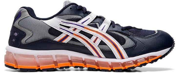 Asics Gel Kayano 5 360 'Midnight Orange' Midnight/White/Orange 跑步鞋/運動鞋 (1021A159-400) 海外預訂