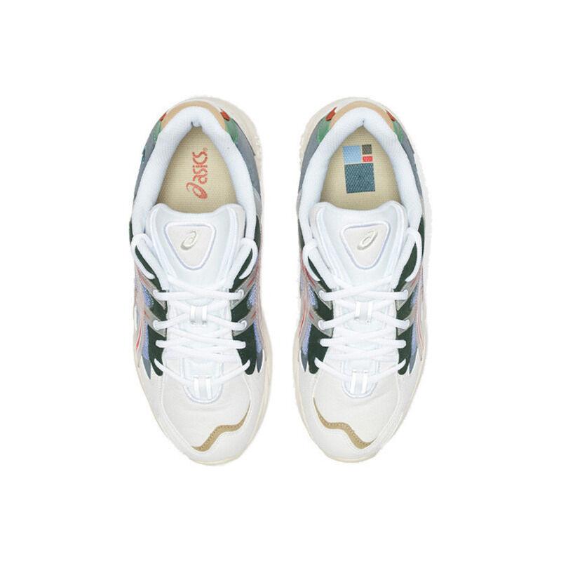 Asics Hypebeast x Gel Kayano 5 'Meadow' White/Speed Red 跑步鞋/運動鞋 (1021A180-101) 海外預訂