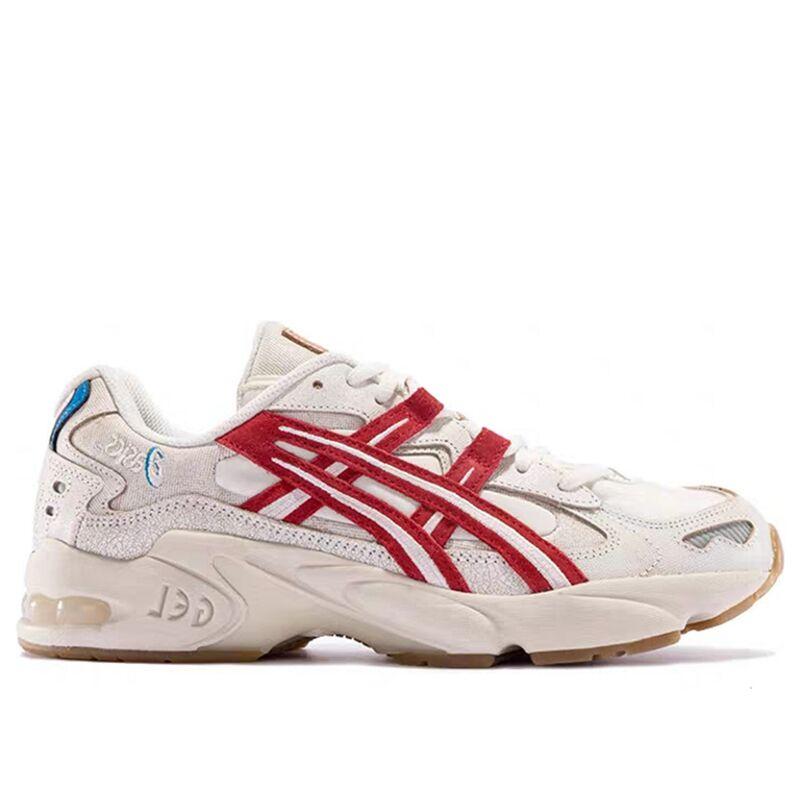 Asics Gel Kayano 5 OG 'Retro Tokyo' Cream/Classic Red 跑步鞋/運動鞋 (1021A388-100) 海外預訂