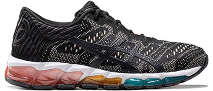 Womens Asics Gel Quantum 360 5 Jacquard 'Black Putty' Black/Putty女子 WMNS跑步鞋/運動鞋 (1022A132-001) 海外預訂