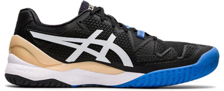Asics Gel Resolution 8 'Black Blue' Black/White 跑步鞋/運動鞋 (1041A079-001) 海外預訂