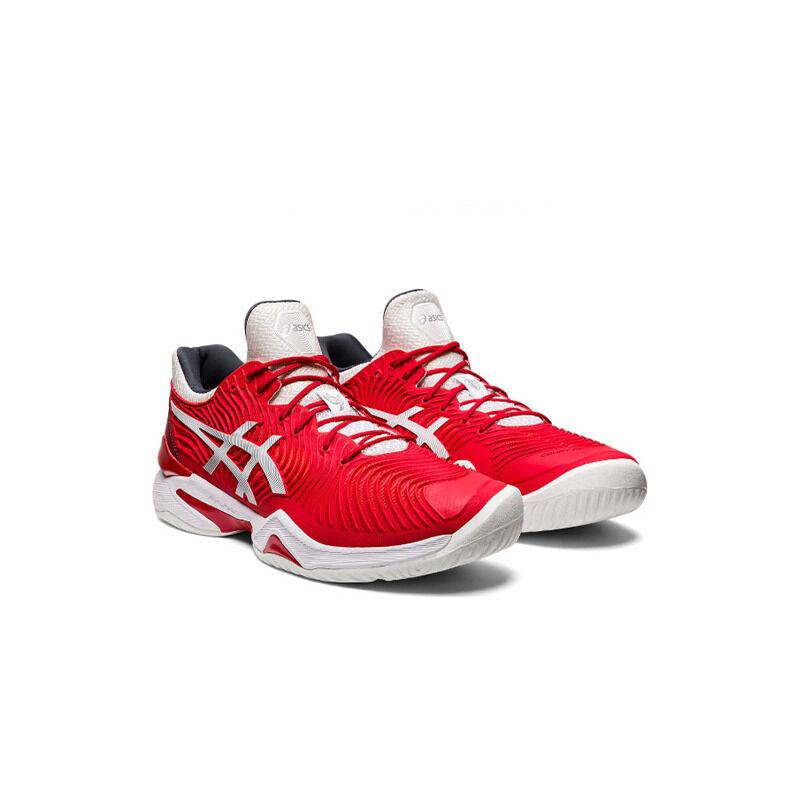 Asics Court FF 'Novak French Open - Classic Red' Classic Red/White 跑步鞋/運動鞋 (1041A089-603) 海外預訂