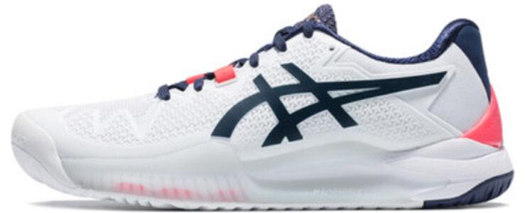 Womens Asics Gel Resolution 8 'White Peacoat' White/Peacoat女子 WMNS跑步鞋/運動鞋 (1042A072-103) 海外預訂