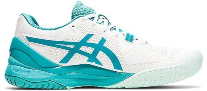 Womens Asics Gel Resolution 8 'White Lagoon' White/Lagoon女子 WMNS跑步鞋/運動鞋 (1042A072-106) 海外預訂