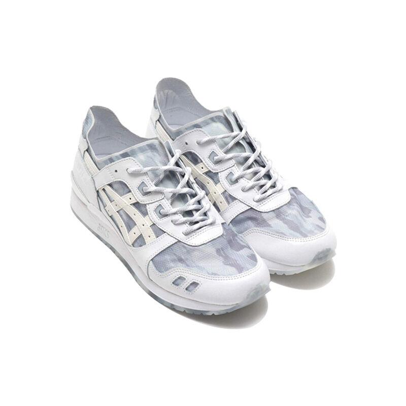 Asics Atmos x Gel Lyte 3 'NEXKIN - White Silver Camo' White/White 跑步鞋/運動鞋 (1191A339-100) 海外預訂