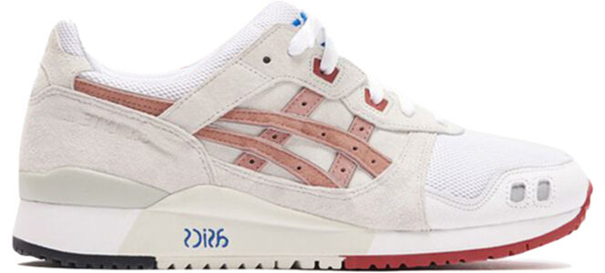 Asics Kith x Gel Lyte 3 OG 'Tokyo Trio Pack - Yoshino Rose' White/Dusty Steppe 跑步鞋/運動鞋 (1193A187-100) 海外預訂