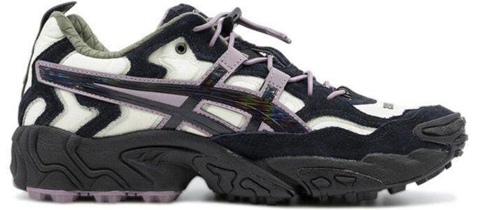 Asics Pleasures x Gel Nandi 'Cream Graphite' Cream/Graphite Grey 跑步鞋/運動鞋 (1201A125-100) 海外預訂
