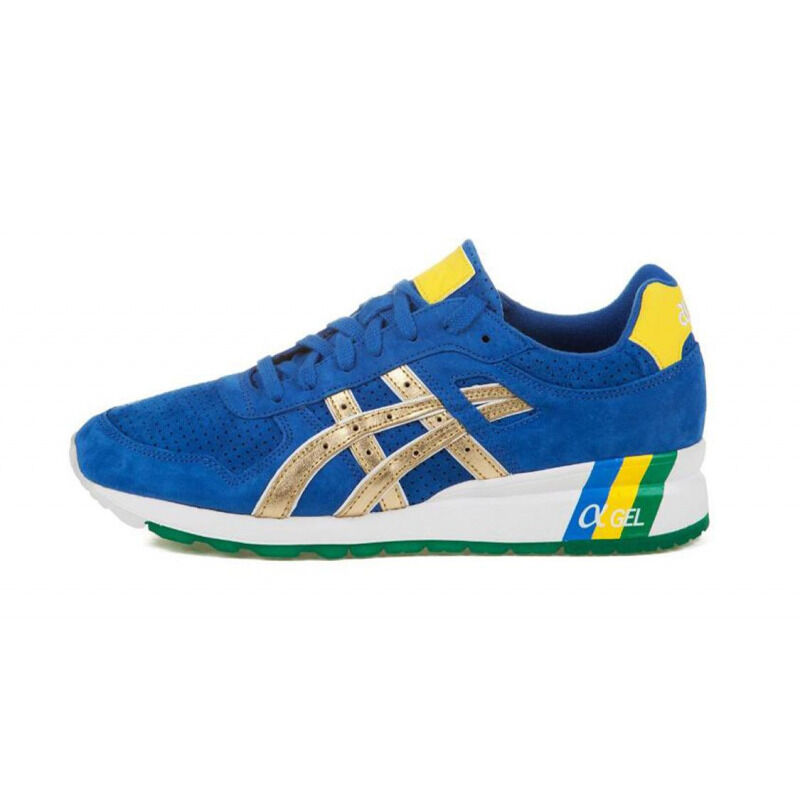 Asics Ronnie Fieg x GT 2 'Brazil' Blue/Gold 跑步鞋/運動鞋 (H40JK-4294) 海外預訂
