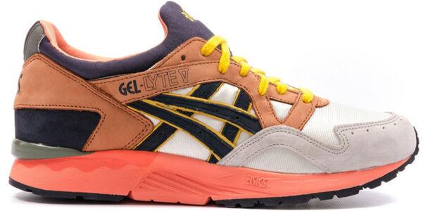 Asics Ubiq x Gel Lyte 5 'Midnight Bloom' Off White-Navy 跑步鞋/運動鞋 (H42BK-9951)