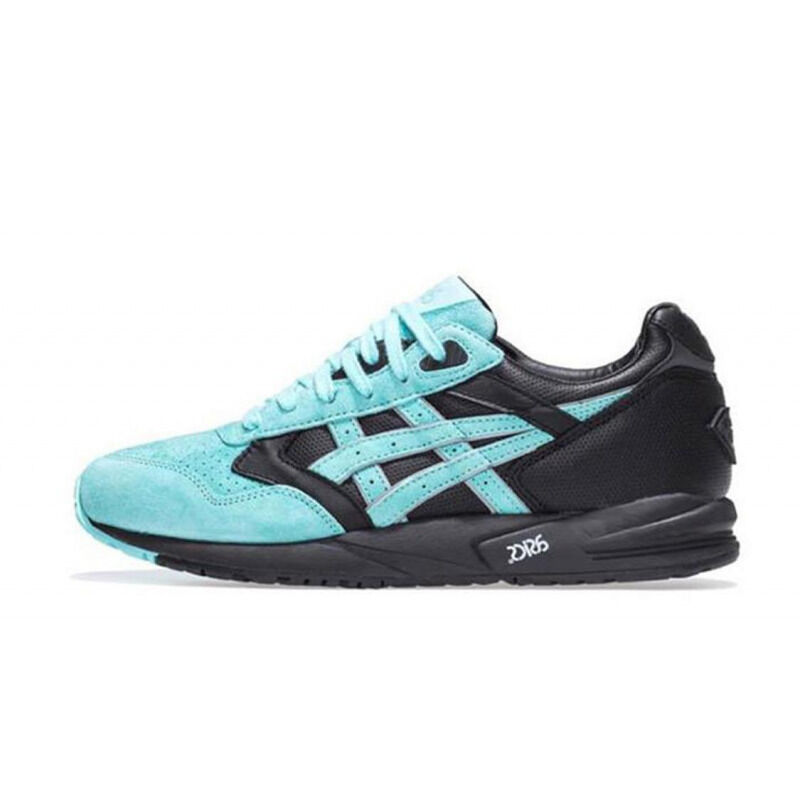 Asics Ronnie Fieg x Diamond Supply Co. x Gel Saga 'Tiffany' Black/Teal 跑步鞋/運動鞋 (H50EK-9048) 海外預訂