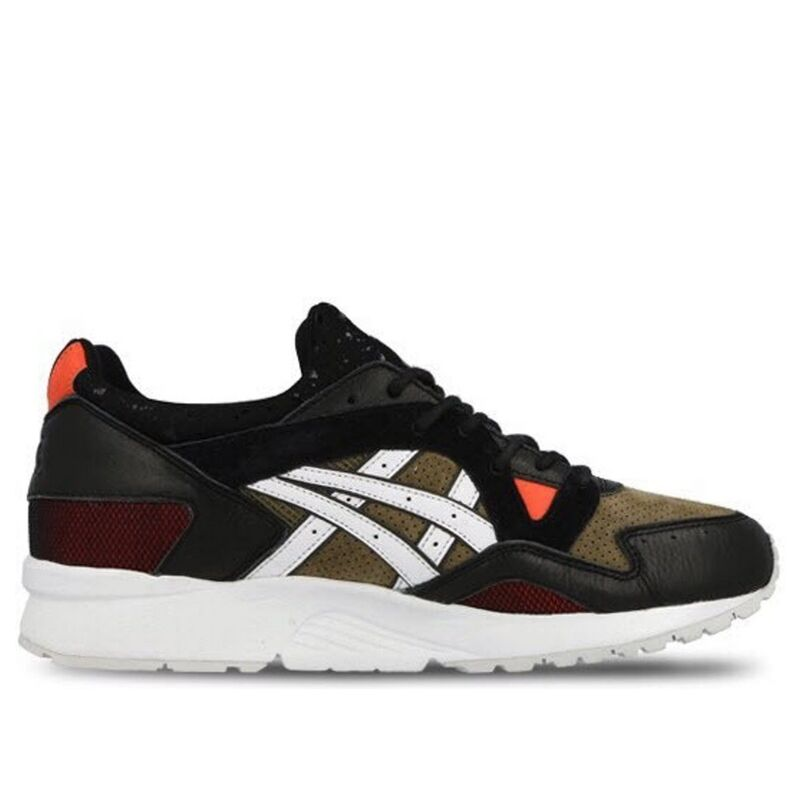 Asics Highs and Lows x Gel Lyte 5 'Medic' Black/Olive/Red 跑步鞋/運動鞋 (H50NK-8101) 海外預訂