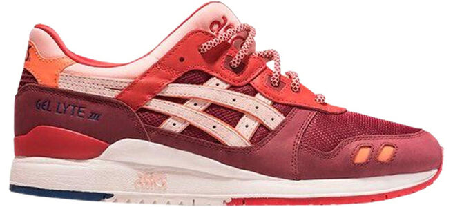 Asics Ronnie Fieg x Gel Lyte 3 'Volcano 2.0' Burgundy/Ash Pink 跑步鞋/運動鞋 (H74CK-3635) 海外預訂