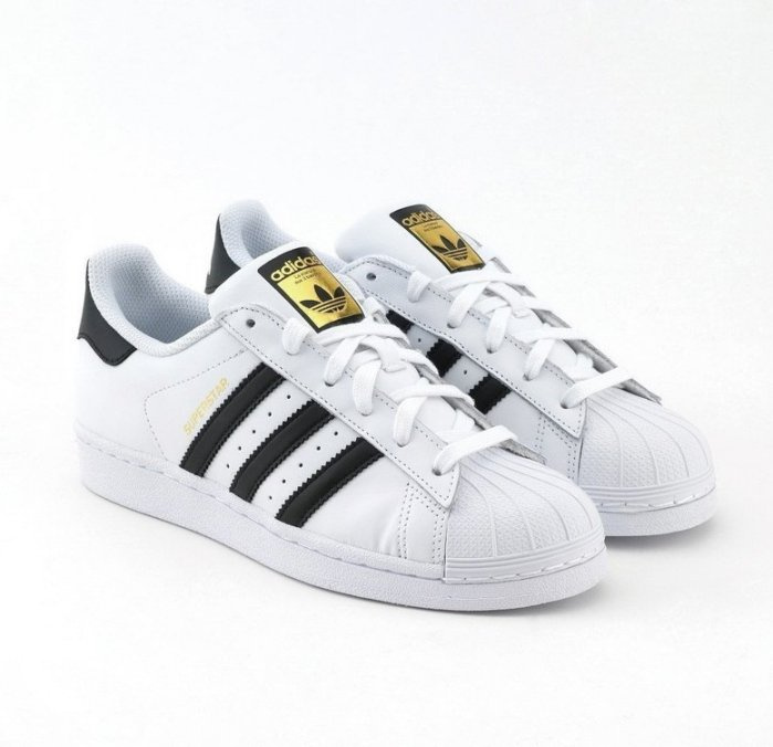 Adidas Originals Superstar 女裝鞋 [黑白色]
