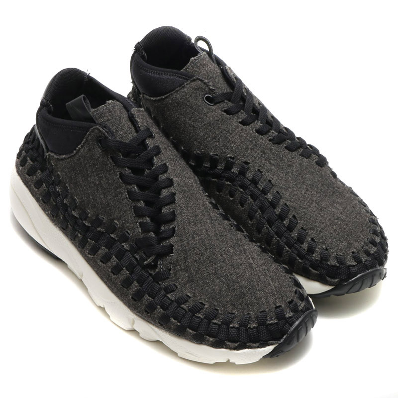 Nike Air Footscape Woven Chukka SE 男裝鞋 [黑色]