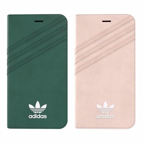 Adidas 經典iPhone 7 及iPhone 7plus 左右翻蓋皮套 [4色]