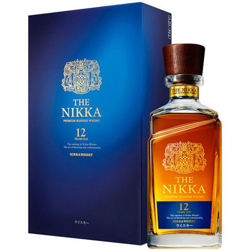 Nikka 12 Years Premium Blended Whisky 威士忌 700mL