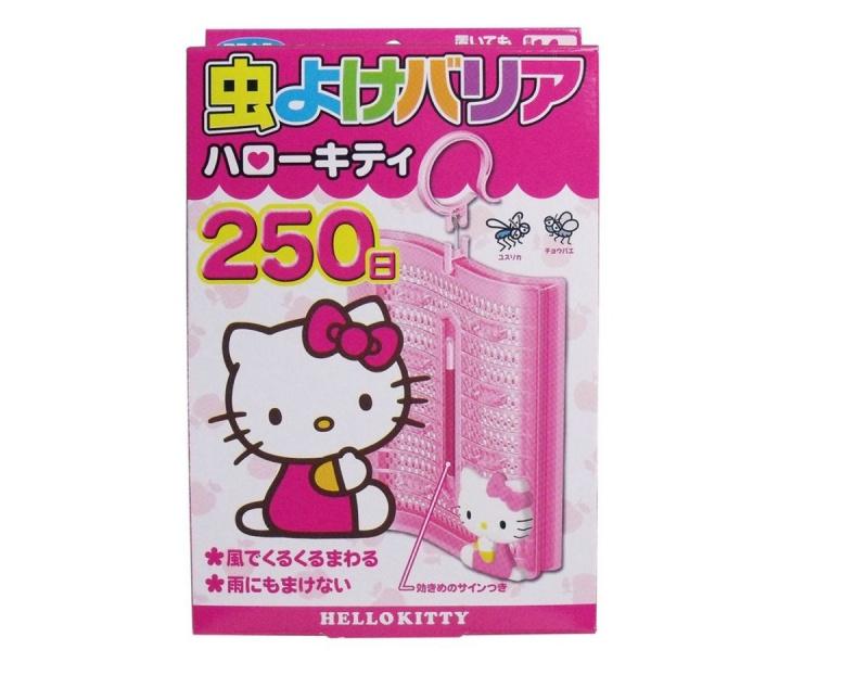 Fumakilla Hello Kitty 掛勾式驅蟲片250日