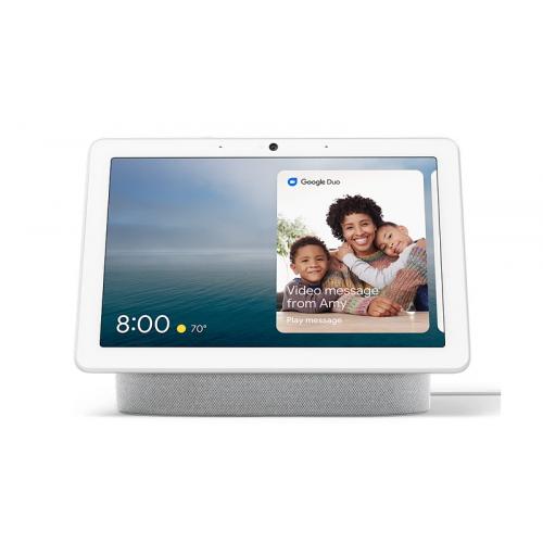 Google Nest Hub Max 智能家居助理 [白色]【恒生限定】