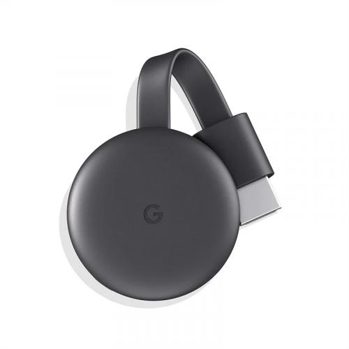 Google Chromecast 3 串流播放裝置 [黑色]【電腦開賣祭】