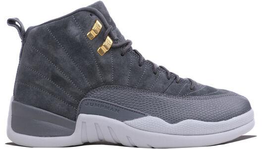 Air Jordan 12 Retro Dark Grey 籃球鞋/運動鞋 (130690-005) 海外預訂