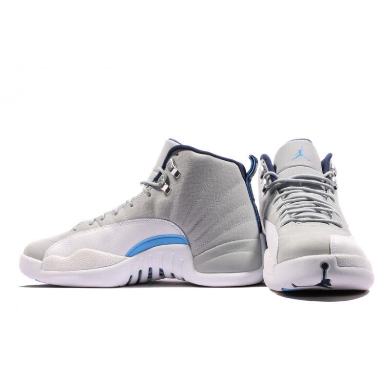 Price本週限時優惠 Air Jordan 12 Retro Wolf Grey 籃球鞋/運動鞋 (130690-007) 海外預訂