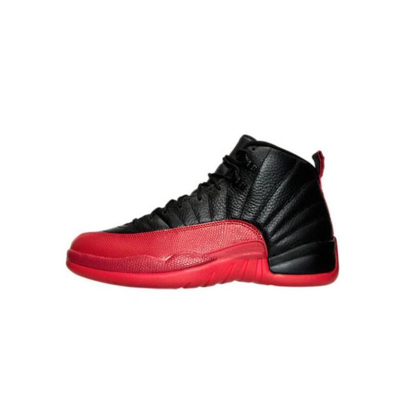 Air Jordan 12 Retro 'Flu Game' 2009 Black/Varsity Red 籃球鞋/運動鞋 (130690-065) 海外預訂