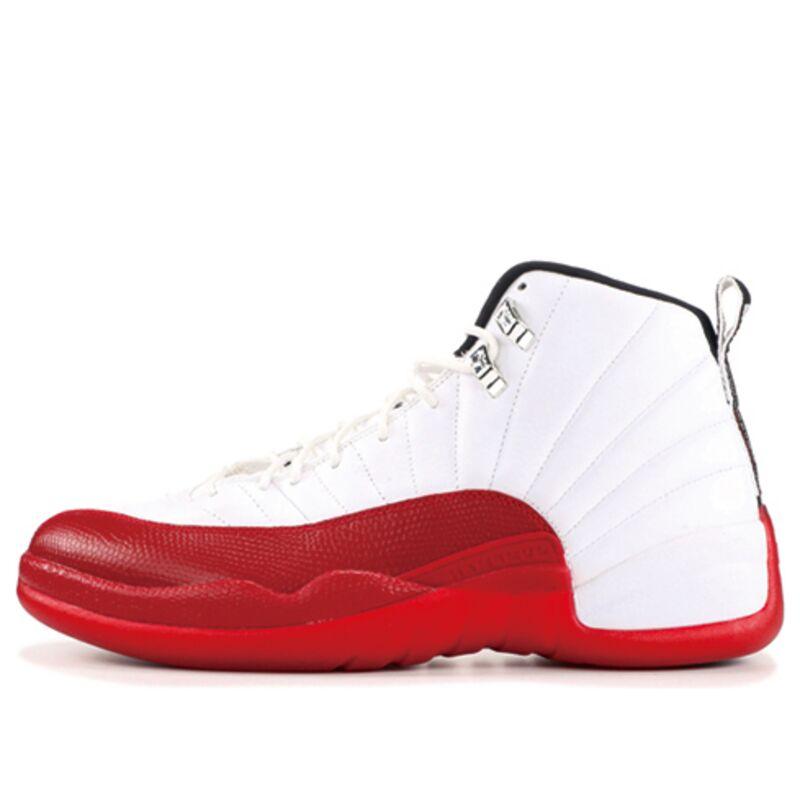 Air Jordan 12 Retro 'Cherry' 2009 White/Black-Varsity Red 籃球鞋/運動鞋 (130690-110) 海外預訂