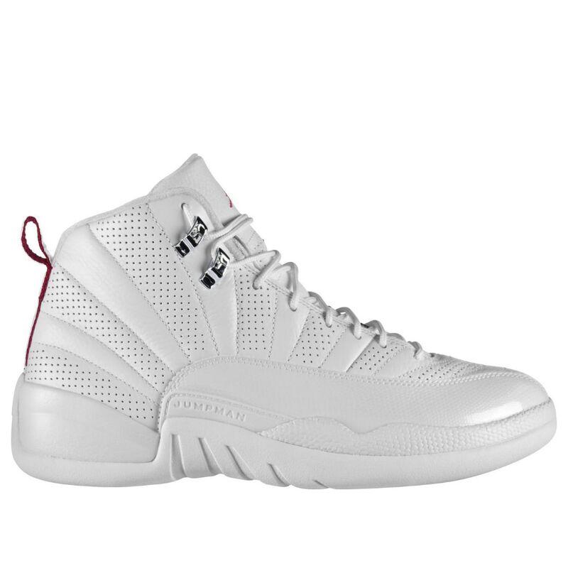 Air Jordan 12 Retro 'Rising Sun' White/Varsity Red-Black 籃球鞋/運動鞋 (130690-163) 海外預訂