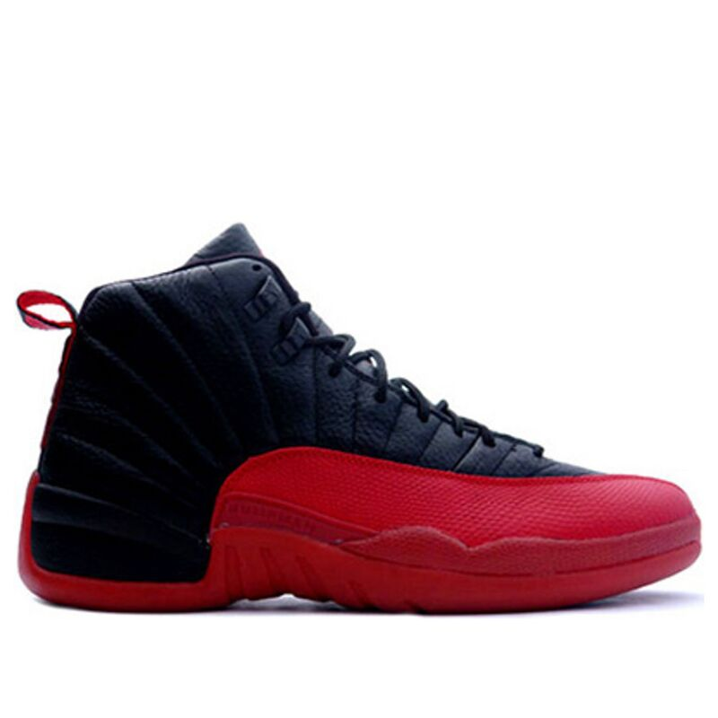 Air Jordan 12 Retro 'Flu Game' 2003 Black/Varsity Red 籃球鞋/運動鞋 (136001-063) 海外預訂