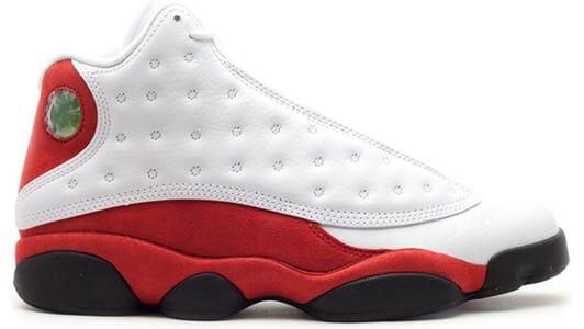 Air Jordan 13 OG 'Cherry' 1998 White/Black/True Red/Pearl Grey 籃球鞋/運動鞋 (136002-101) 海外預訂