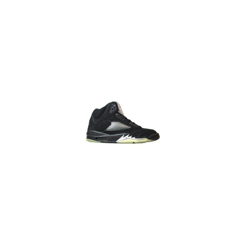 Air Jordan 5 Retro 'Metallic' 2000 Black/Black-Metallic Silver 籃球鞋/運動鞋 (136027-001) 海外預訂