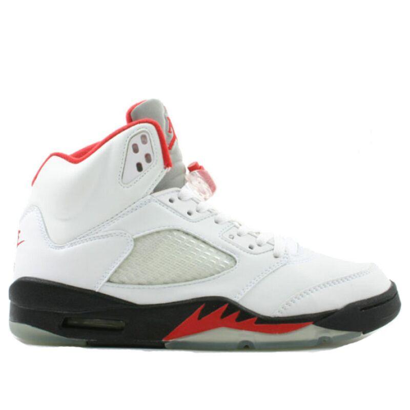 Air Jordan 5 Retro 'Fire Red' 2000 White/Black-Fire Red 籃球鞋/運動鞋 (136027-101) 海外預訂