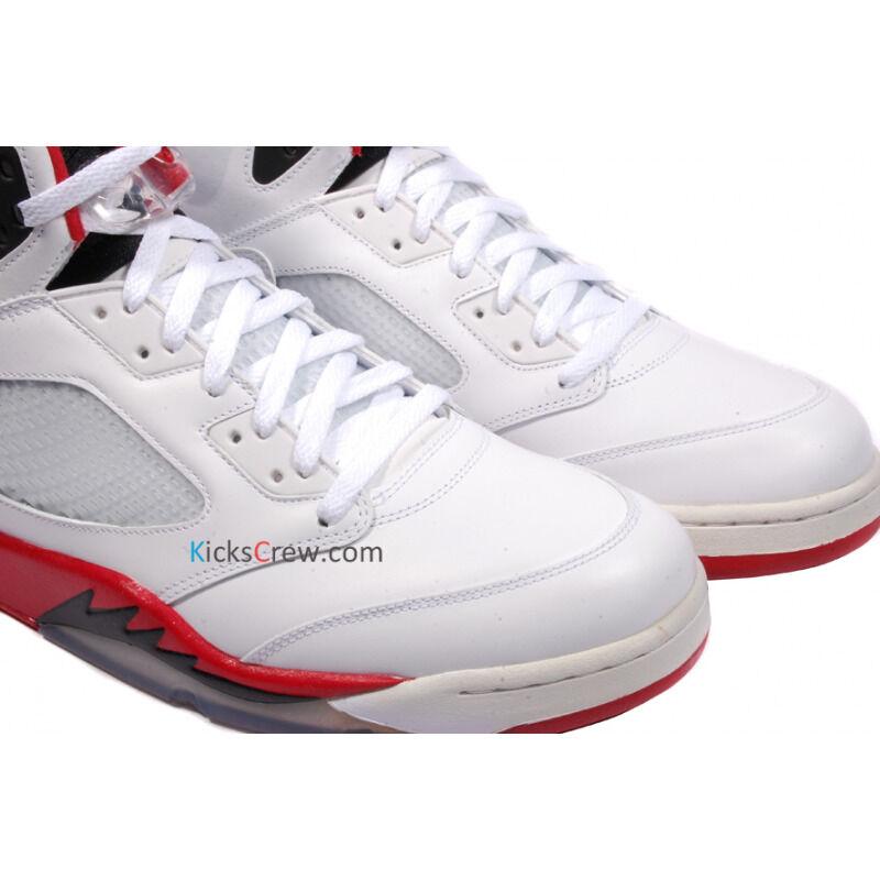 Air Jordan 5 Retro Fire Red Black Tongue 籃球鞋/運動鞋 (136027-120) 海外預訂