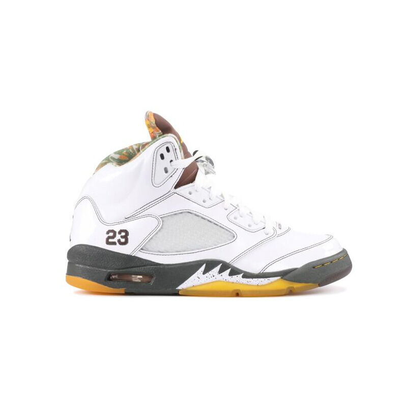 Air Jordan 5 Retro 'Cinder' White/Dark Cinder-Dark Army-Del Sol 籃球鞋/運動鞋 (136027-121) 海外預訂