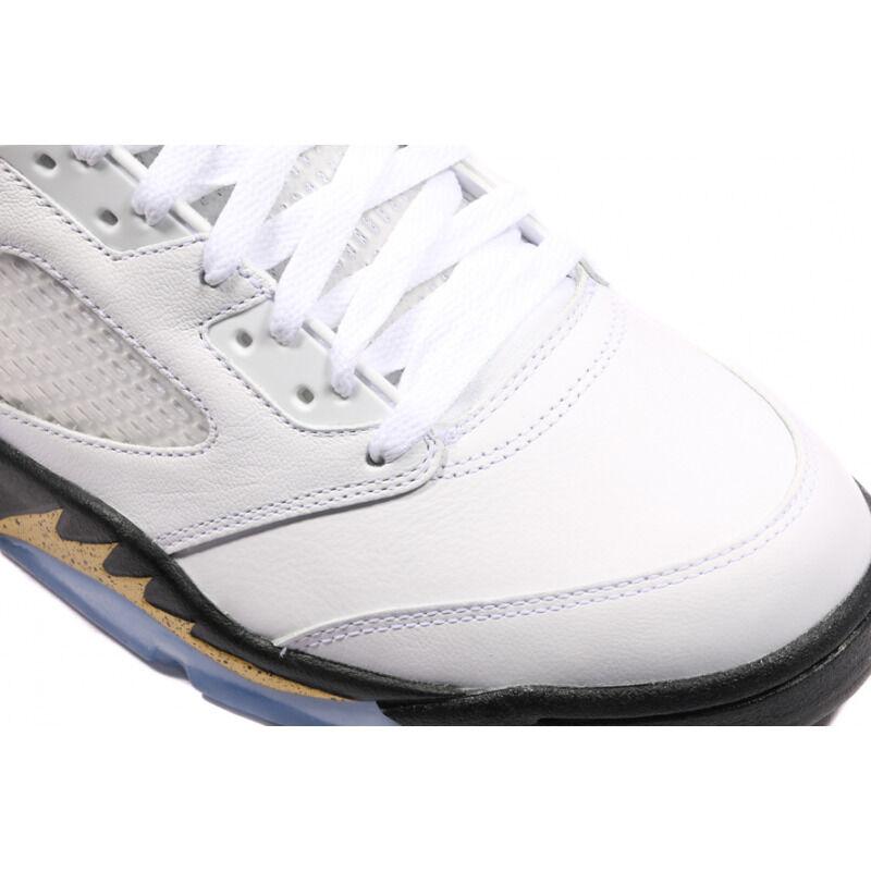 Air Jordan 5 Retro Olympic Gold Tongue 籃球鞋/運動鞋 (136027-133) 海外預訂