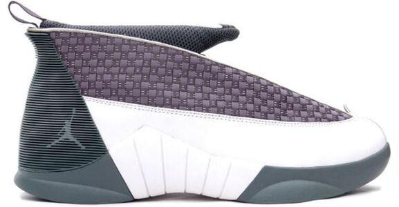 Air Jordan 15 OG 'Flint Grey' Flint Grey/White 籃球鞋/運動鞋 (136029-011) 海外預訂