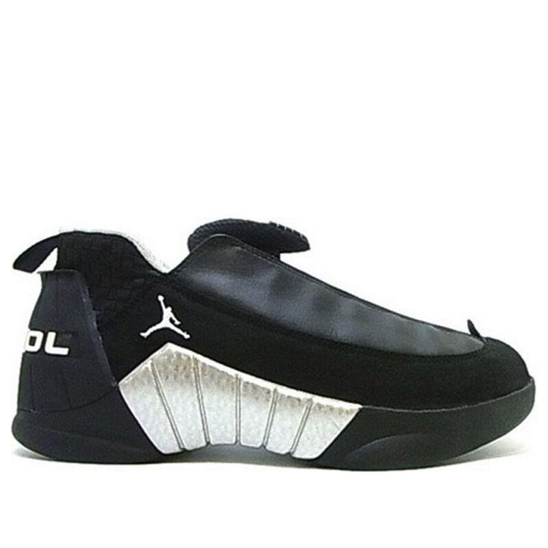 Air Jordan 15 OG Low 'Black Silver' Black/White/Metallic Silver 籃球鞋/運動鞋 (136035-011) 海外預訂